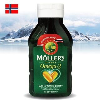 Möllers 沐樂思 經典全能膠囊(112顆/瓶)+遇見康綜合維他命發泡錠x4