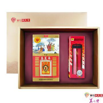 華陀扶元堂-天官高麗蔘茶禮盒1盒組(高麗蔘茶包+鍋寶保溫杯)