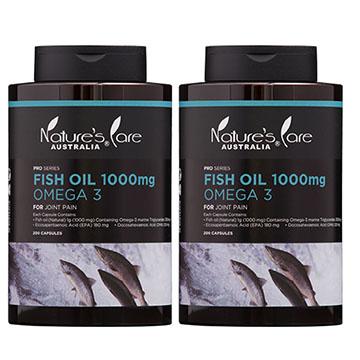 Nature's Care豐納康 深海魚油Omega-3膠囊(200顆)2入組