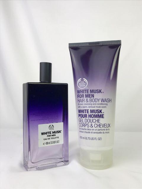 The Body Shop 男士麝香噴式香水 & 2合一 沐浴優惠組