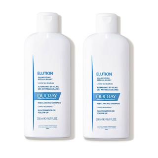DUCRAY護蕾 控油舒敏洗髮精-基礎型2入組(200ml)