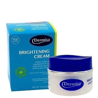 美國品牌 Dermisa Brightening Cream 全亮白乳霜 植物性淨白亮膚霜 42g