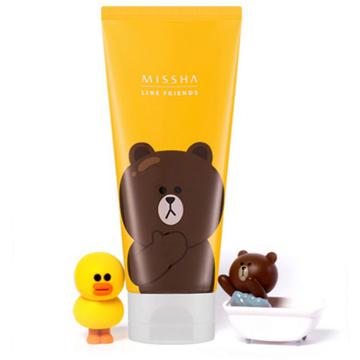 [Line x Missha] 超可愛!!熊大鈴蘭花香洗面乳 150ml