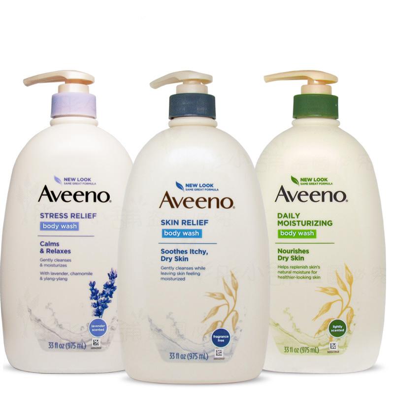 Aveeno Active Naturals 燕麥保濕沐浴乳系列 無香/ 微香 975ml 家庭號