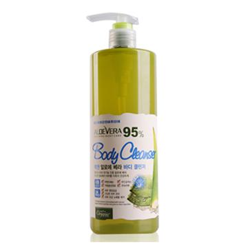 《韓國Organia歐格妮亞》有機蘆薈95%舒緩保濕沐浴露1500g