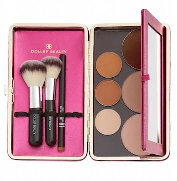 Dollup Case美國高質感原裝進口化妝盒收納盒(芭比粉)
