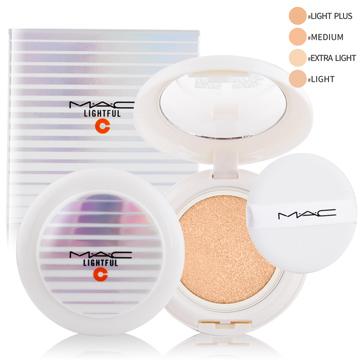 M.A.C 亮白C氣墊粉餅SPF50/PA++++(12g)多色可選贈專櫃精華液試用包(隨機出貨)X1