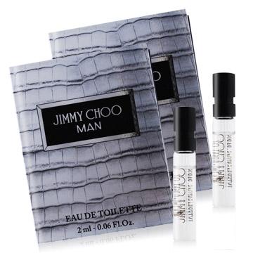 JIMMY CHOO 同名男性淡香水針管(2ml)X2-公司貨