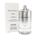 Mercedes Benz 賓士銀色經典男性淡香水120ml TESTER(有盒無蓋)