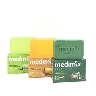 【印度MEDIMIX】草本香皂30入三色特惠組(125克)當地特價版