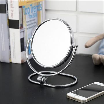 (BuyJM) 摺疊式2倍放大雙面化妝鏡/桌上鏡