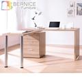 Bernice-凱希4.9尺多功能旋轉桌/工作桌/辦公桌(白色)