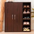 【澄境】原木質感五層大容量收納鞋櫃